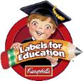 Visit the Campbell's Labels for Education website.