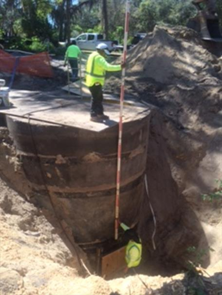 Construction of Sewer Lift Station #1