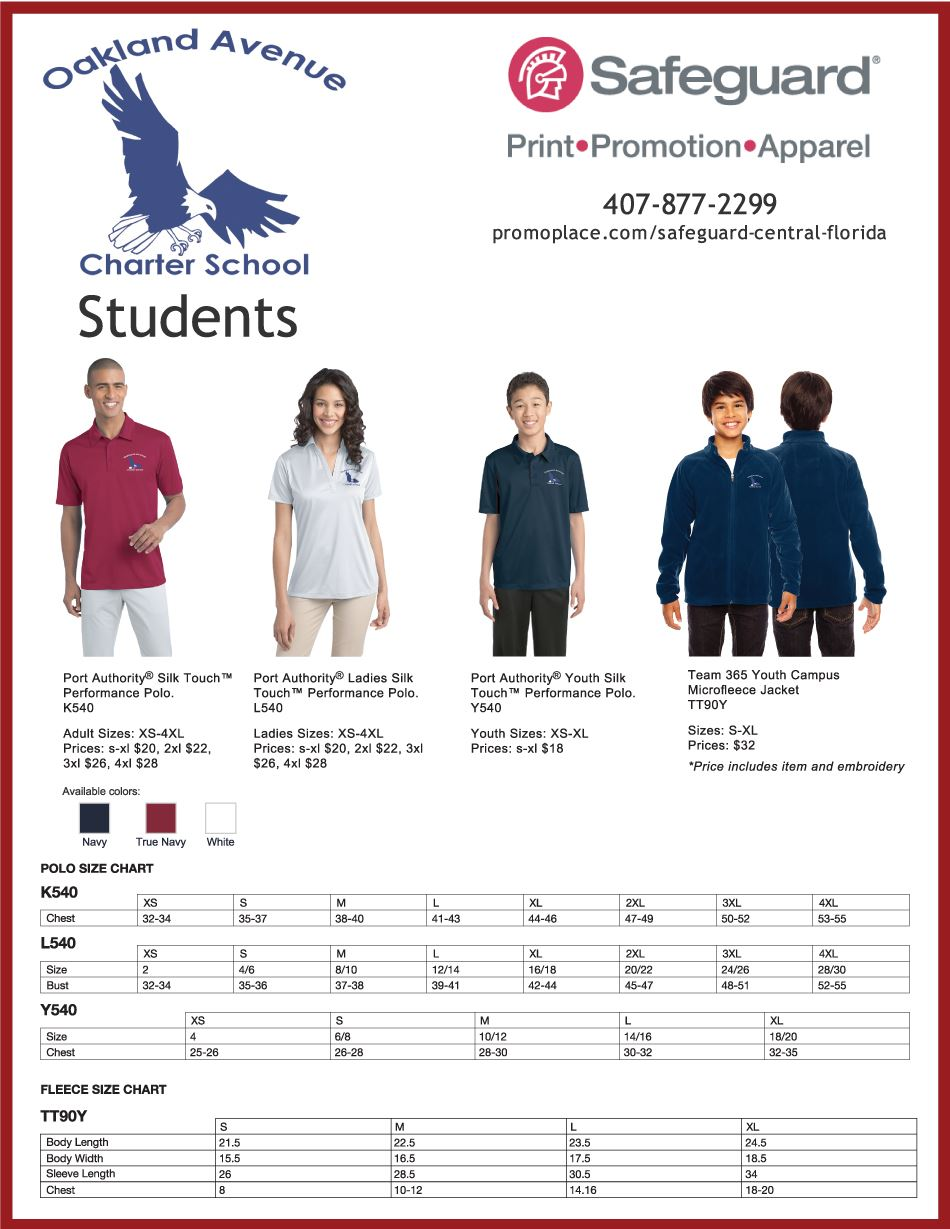 Oakland-Ave-Polos-Student-Flyer