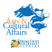 Florida Orange County Government Arts and Cultural Affairs Logo