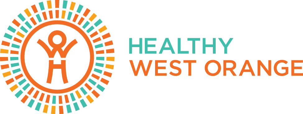 Healthy West Orange Horizontal Logo